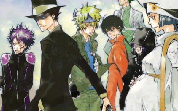 Anime Katekyō Hitman Reborn! Colonnello Viper Skull Verde HD Wallpaper | Background Image