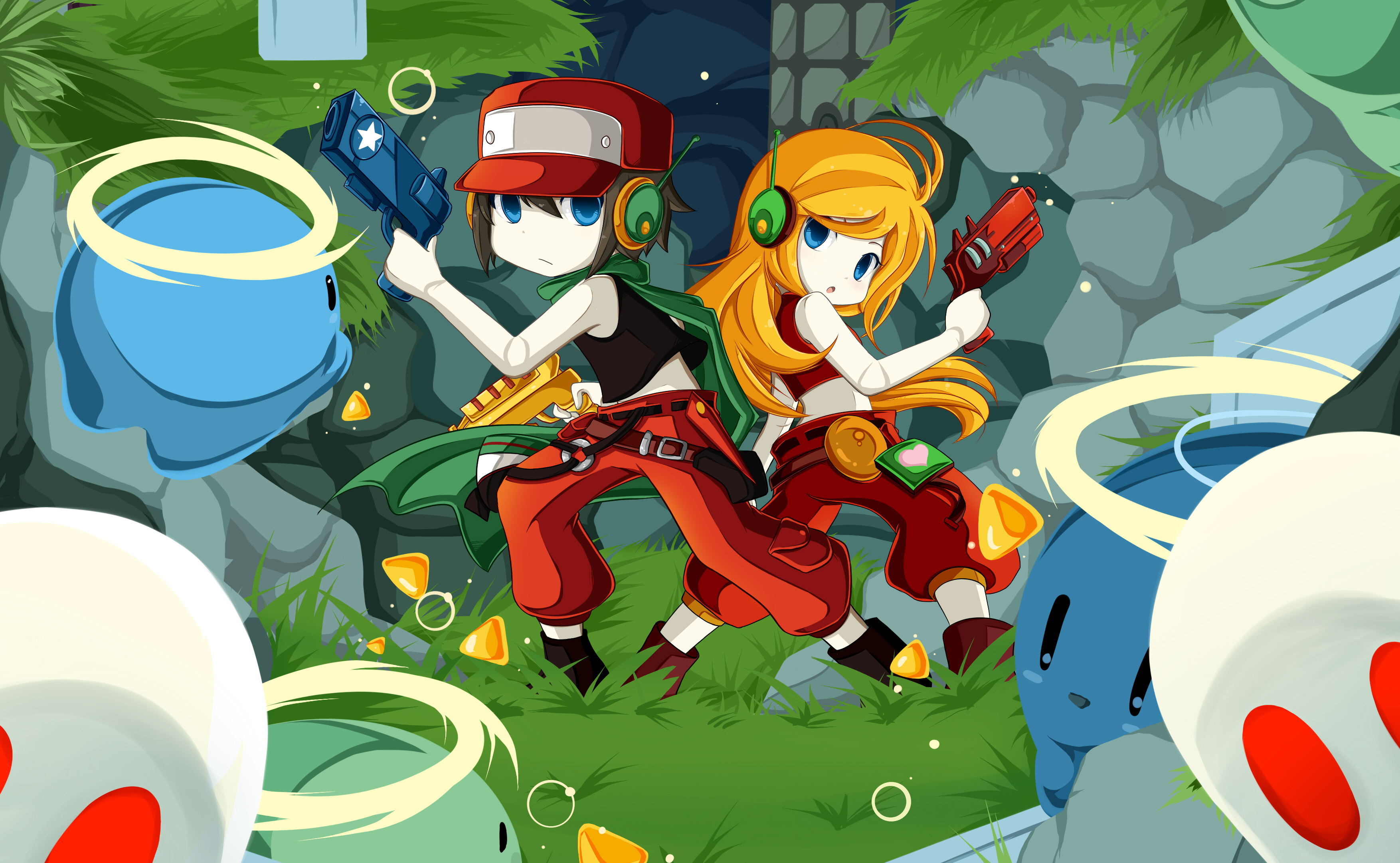 Cave story full hd wallpaper and background image 3508x2161 id video game cave story quote cave story curly brace wallpaper voltagebd Gallery