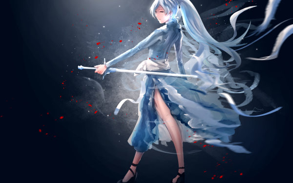 Anime RWBY Weiss Schnee HD Wallpaper | Background Image