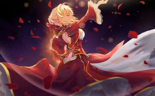 Anime Fate/Extra Fate Series Red Saber Nero Claudius Saber HD Wallpaper | Background Image