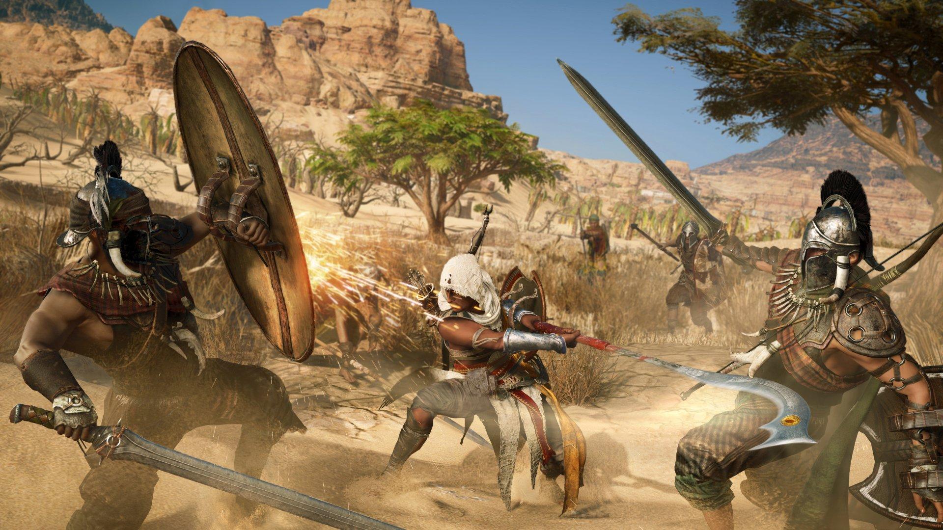 Assassin's Creed Origins Bayek Of Siwa Wallpaper HD 4k