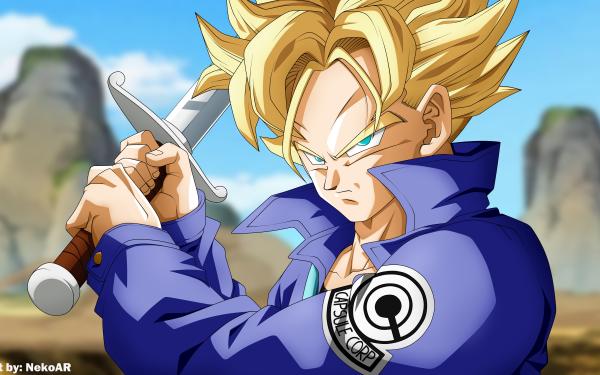 Anime Dragon Ball Z Dragon Ball Trunks HD Wallpaper   Background Image