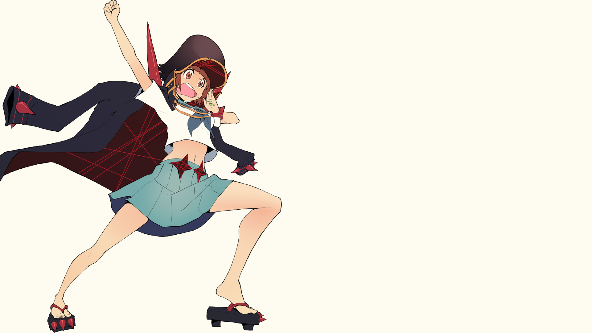 Anime - Kill La Kill  Mako Mankanshoku Wallpaper