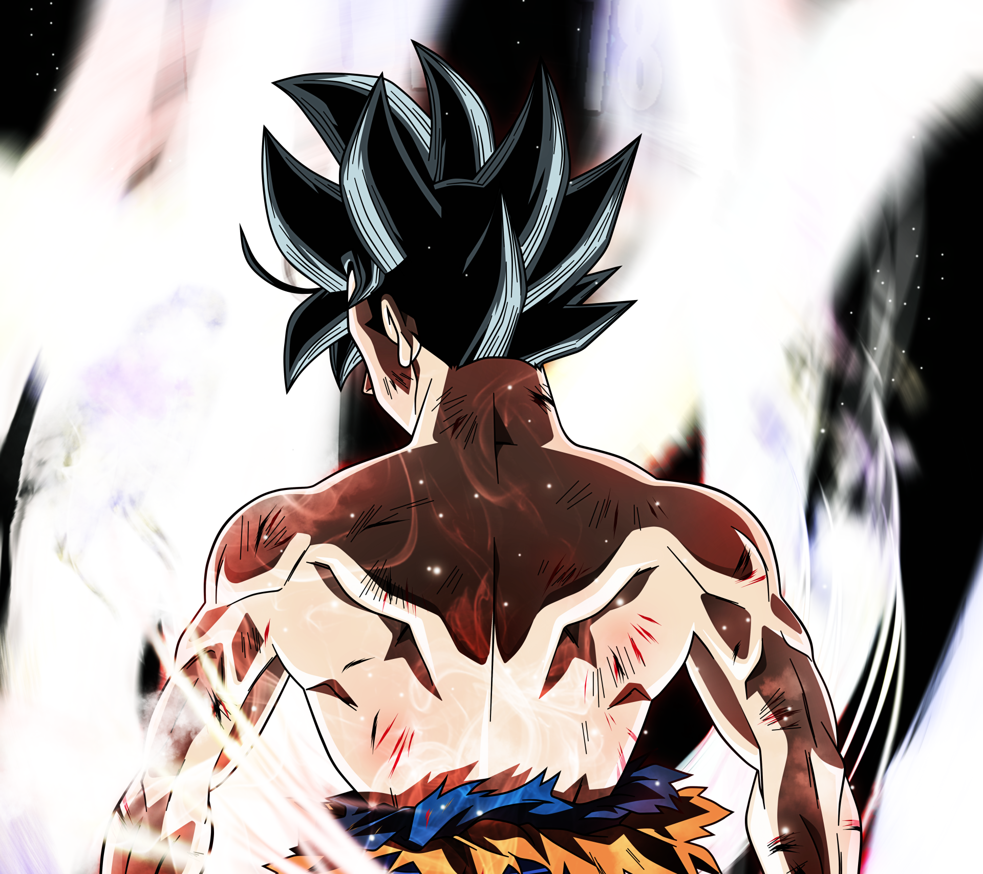 Anime - Dragon Ball Super  Goku Ultra Instinct (Dragon Ball) Saiyan Anime Wallpaper