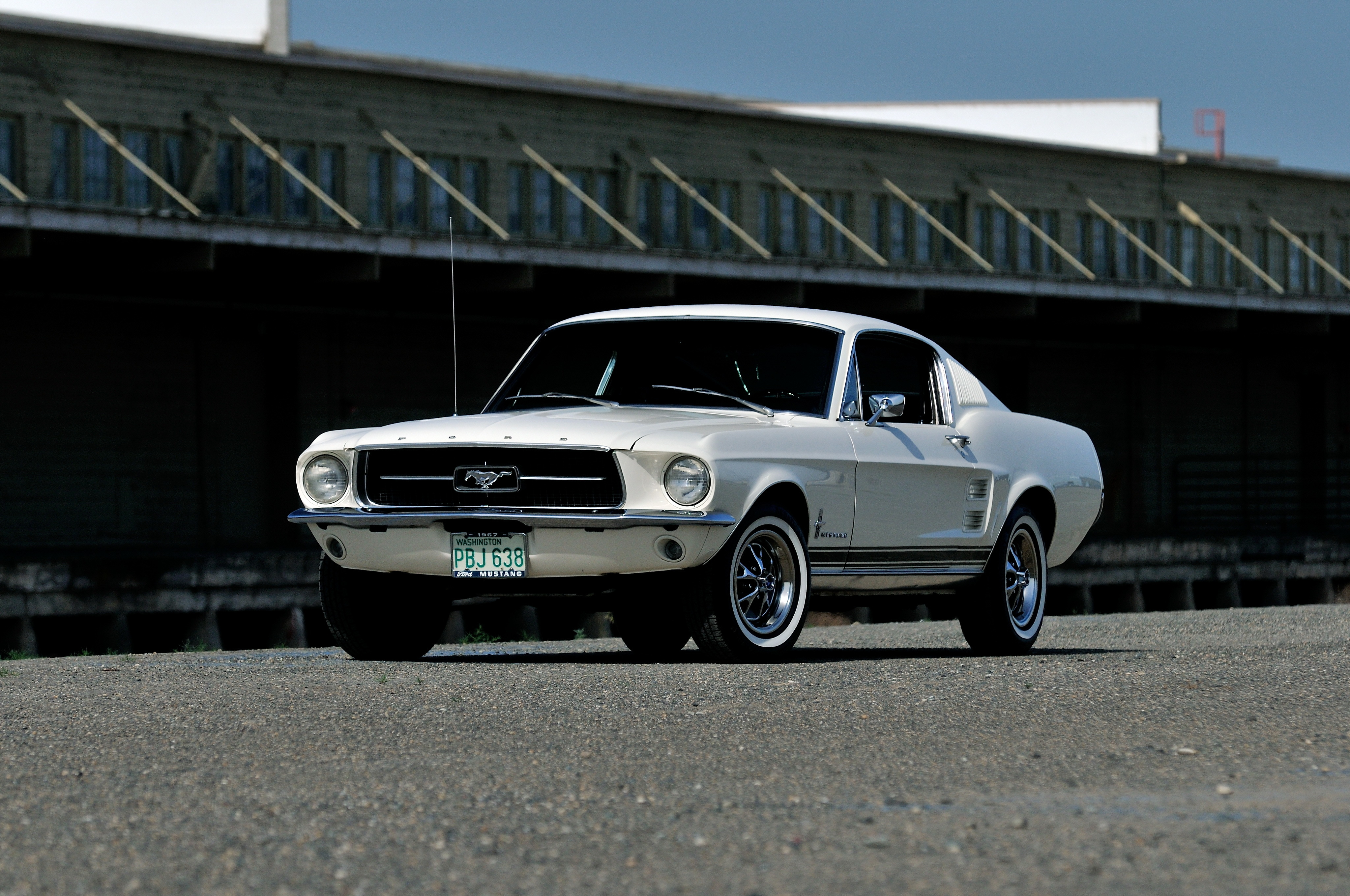 1967 Ford Mustang Fastback 4k Ultra Fondo De Pantalla Hd