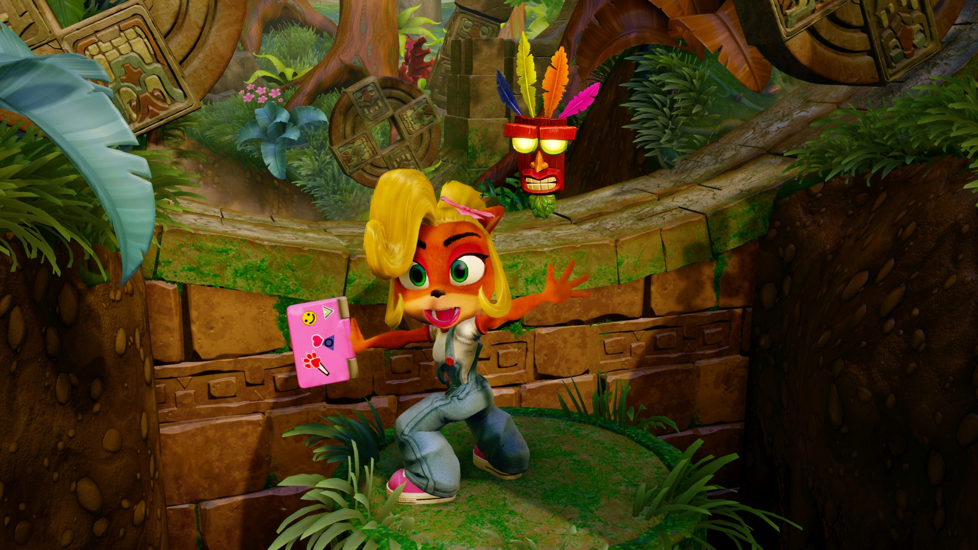 Coco Bandicoot N Sane Trilogy Hd Wallpaper Background Image
