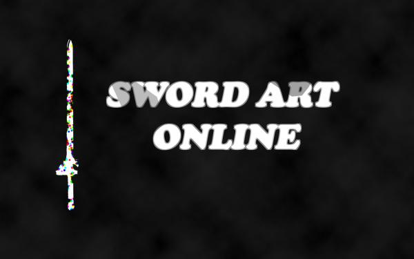 Anime Sword Art Online Black HD Wallpaper | Background Image