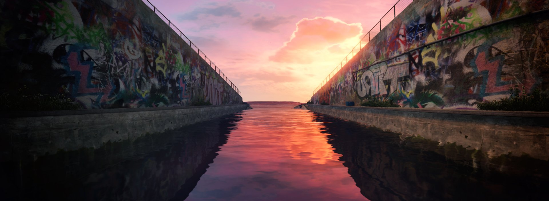 Video Game - Grand Theft Auto V  Water Reflection Cloud Sky Wallpaper