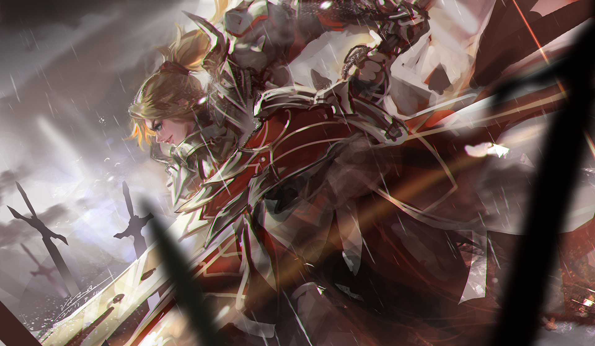 583 Fate Apocrypha Hd Wallpapers Background Images Wallpaper Abyss