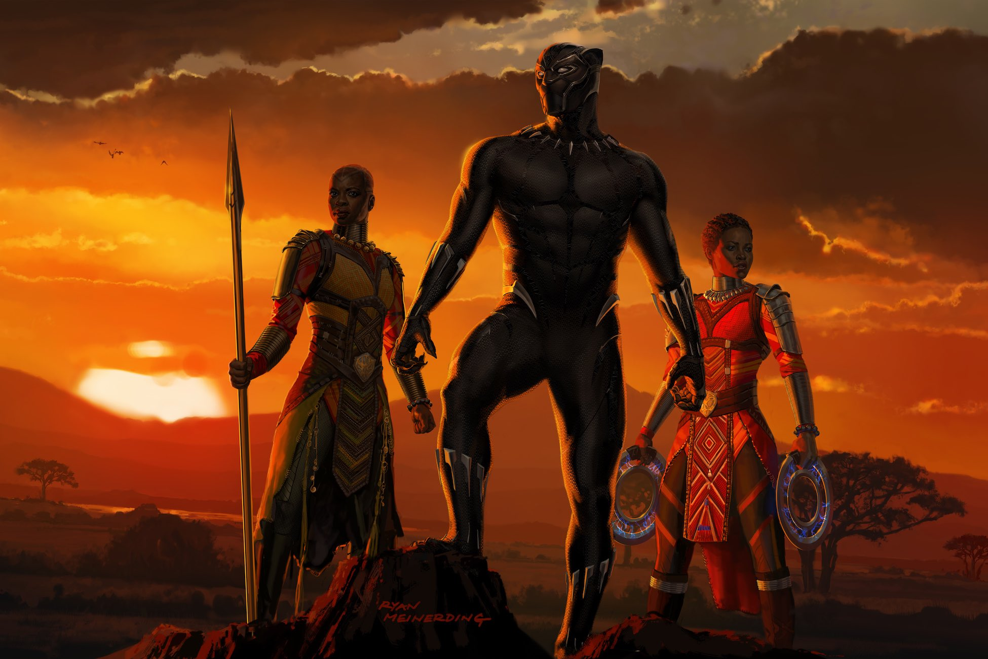 Black Panther Marvel Comics · HD Wallpaper | Background Image ID:855117