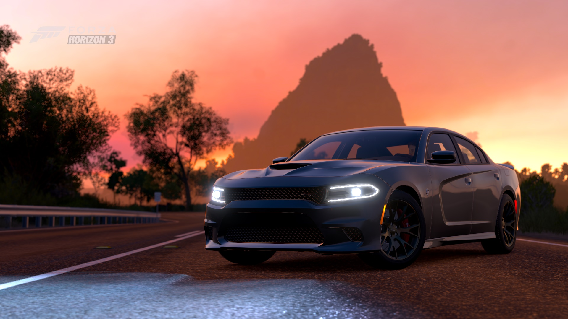 2015 dodge charger srt hellcat hd wallpaper | background image