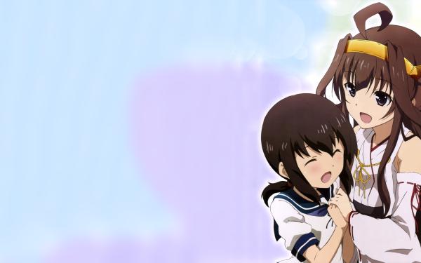 Anime Kantai Collection Kongou Fubuki HD Wallpaper   Background Image
