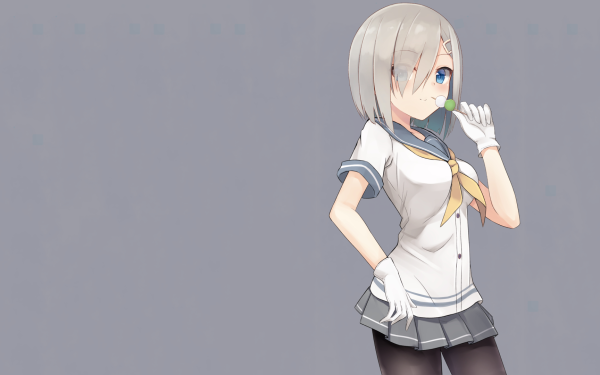 Anime Kantai Collection Hamakaze HD Wallpaper | Background Image