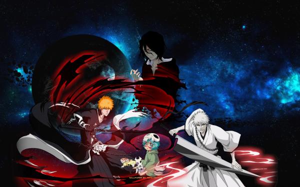 Anime Bleach Ichigo Kurosaki Zangetsu Nel Tu HD Wallpaper | Background Image