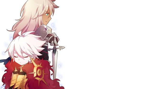 Anime Fate/Apocrypha Fate Series Saber of Black Lancer of Red HD Wallpaper   Background Image