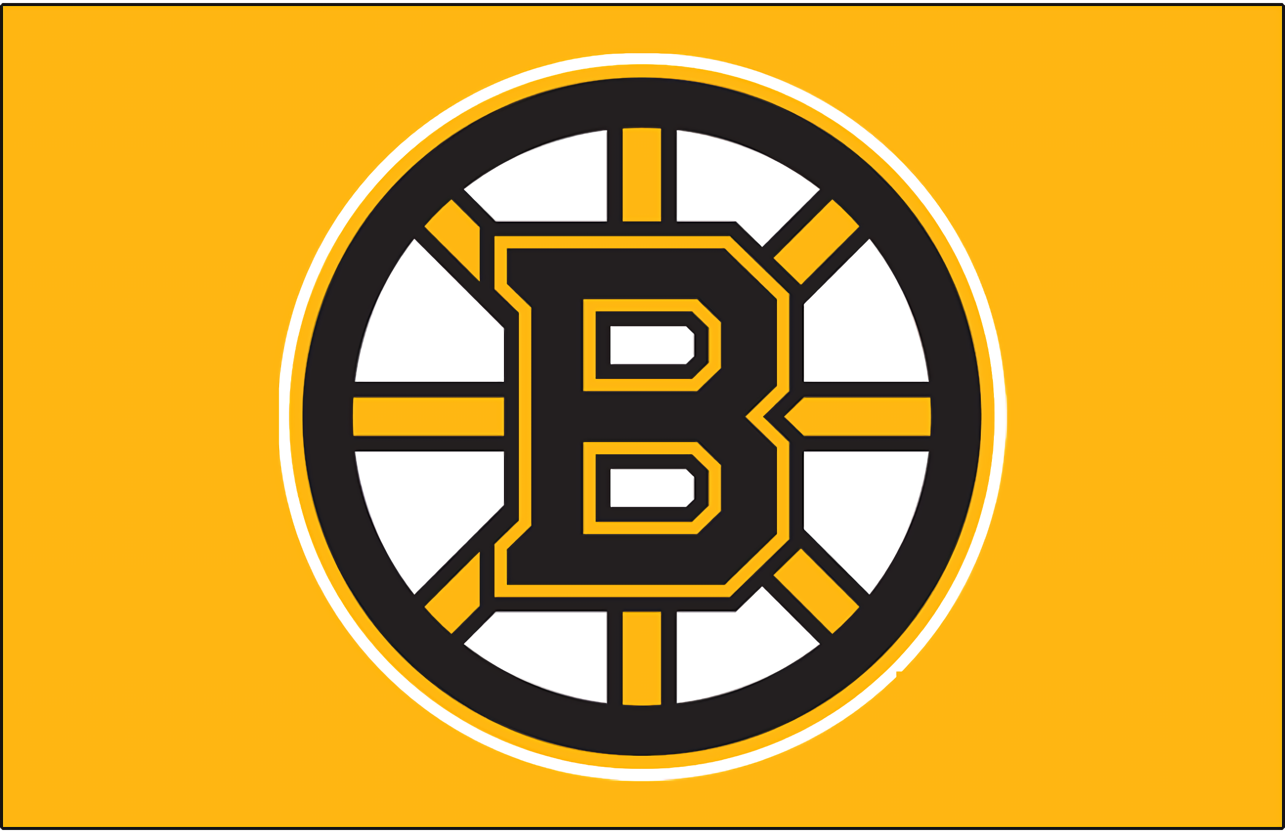Image result for boston bruins logo yellow background