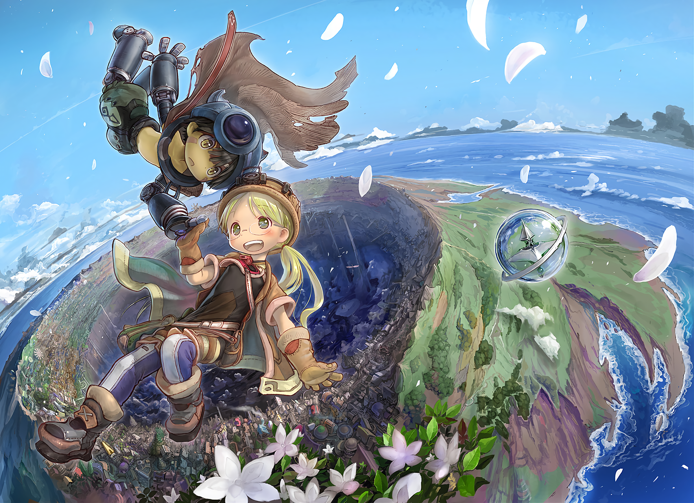 Made In Abyss HD Wallpaper  Background Image  2400x1742  ID:860636  Wallpaper Abyss