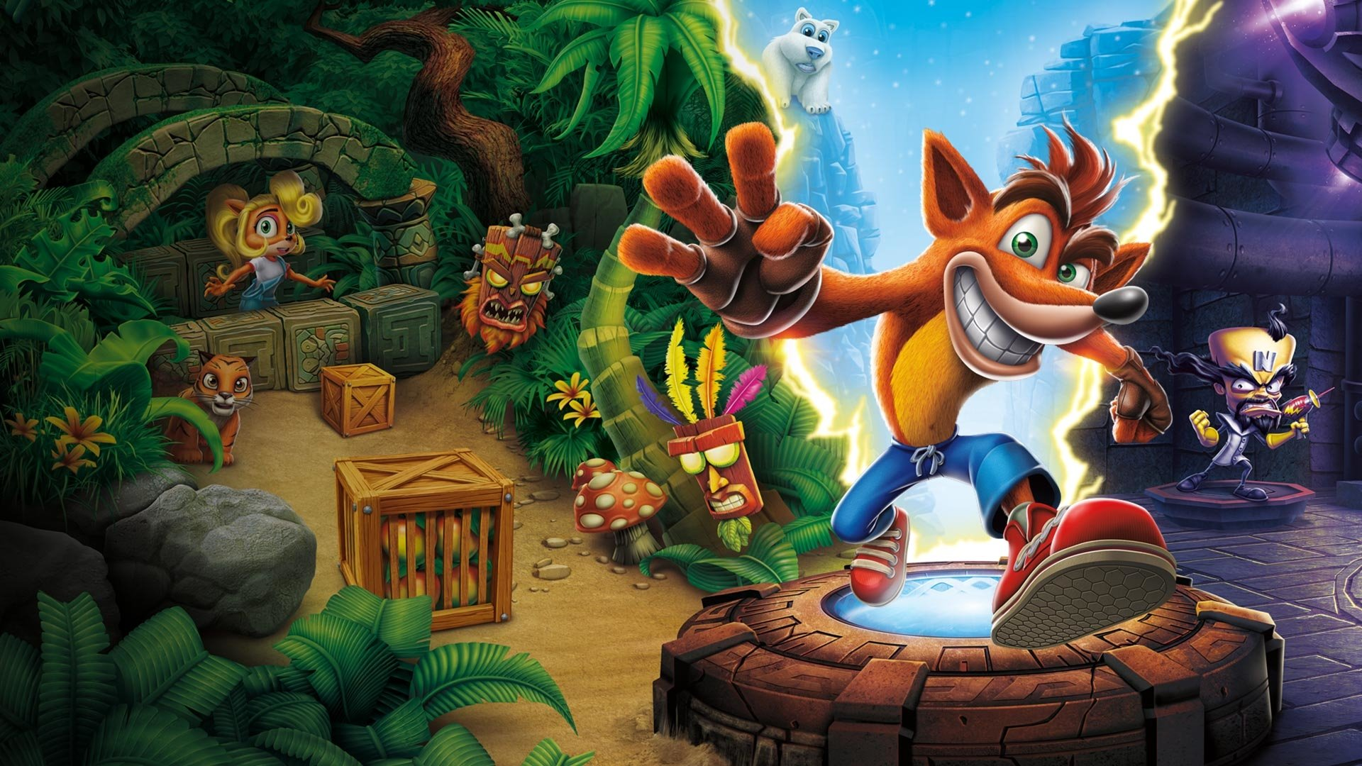 31 Crash Bandicoot N Sane Trilogy Hd Wallpapers Background Images