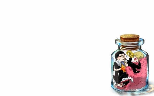 Anime One Piece Donquixote Doflamingo Crocodile HD Wallpaper | Background Image