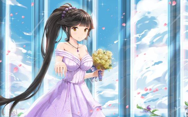 Anime Azur Lane Takao Bilan Hangxian HD Wallpaper | Background Image