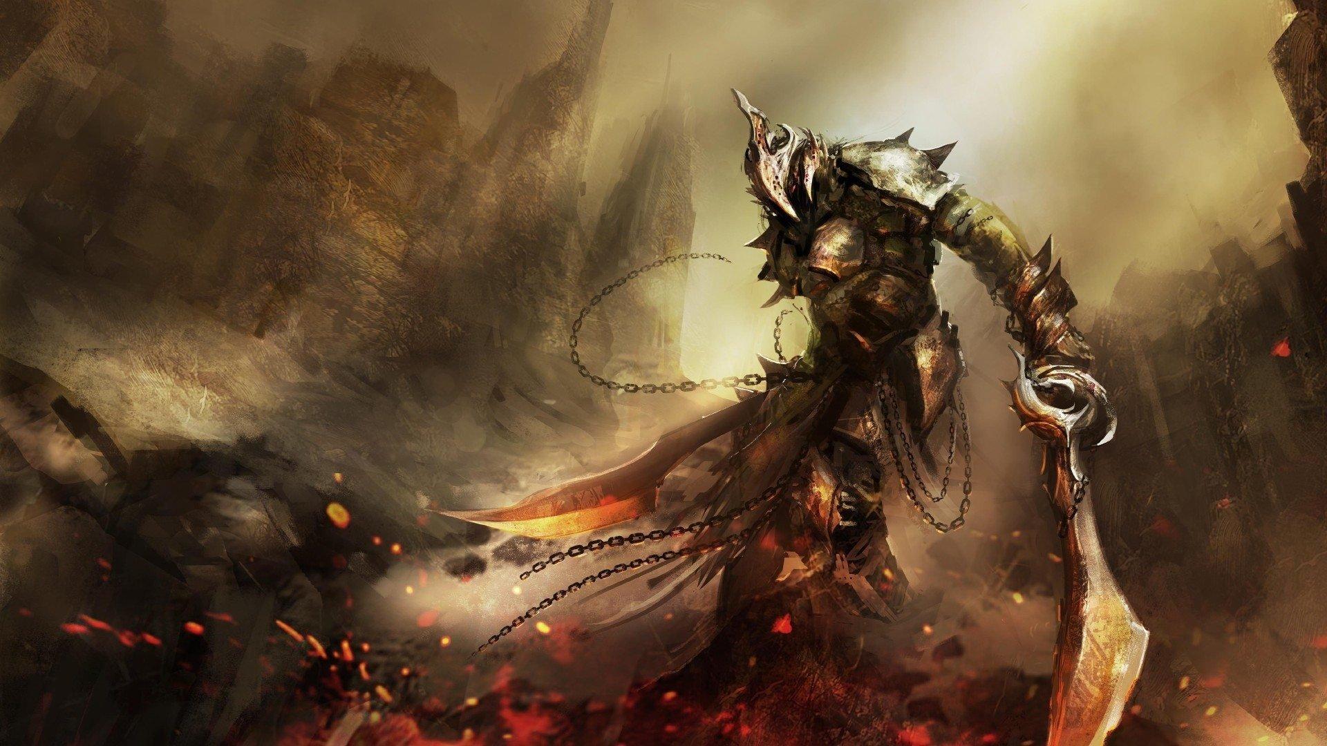 Video Game - Dark Souls III  Sword Warrior Dark Fire Wallpaper