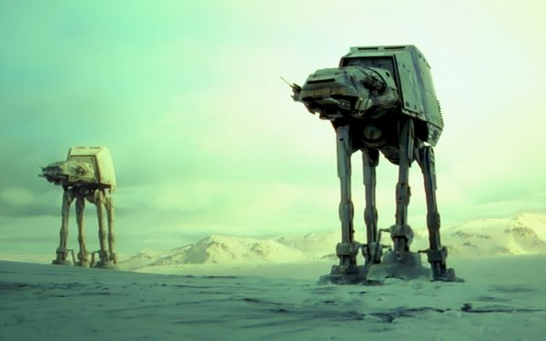 Movie Star Wars AT-AT Walker Hoth HD Wallpaper | Background Image