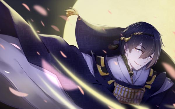 Anime Touken Ranbu Mikazuki Munechika HD Wallpaper   Background Image