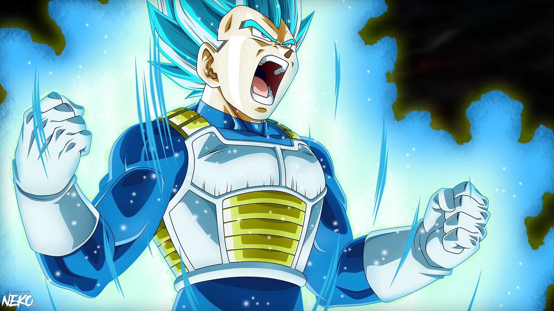 Vegeta Blueee Full HD Wallpaper And Background Image