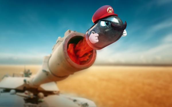 Video Game Super Mario Odyssey Mario Bullet Bill HD Wallpaper | Background Image