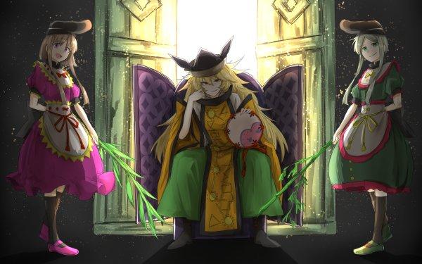 Anime Touhou Okina Matara Satono Nishida Mai Teireida HD Wallpaper   Background Image