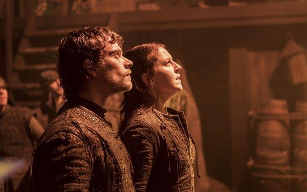 TV Show Game Of Thrones Theon Greyjoy Yara Greyjoy Alfie Allen Gemma Whelan HD Wallpaper   Background Image