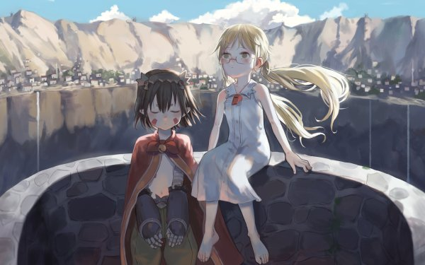 Anime Made In Abyss Made in Abyss Riko Regu Fondo de pantalla HD | Fondo de Escritorio