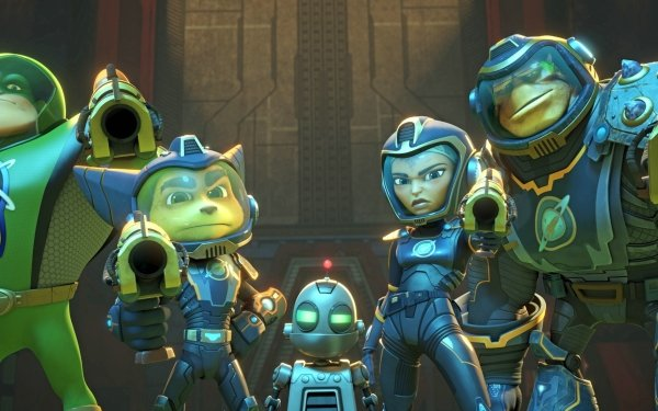 Movie Ratchet & Clank HD Wallpaper   Background Image