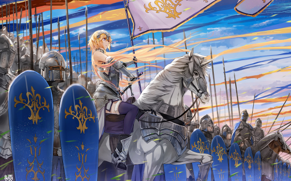 Anime Fate/Apocrypha Fate Series Jeanne d'Arc Ruler Fate/Grand Order HD Wallpaper | Background Image