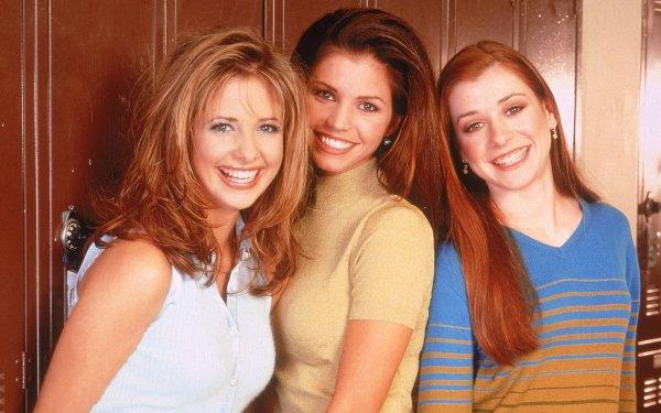 TV Show Buffy The Vampire Slayer Sarah Michelle Gellar Alyson Hannigan Charisma Carpenter HD Wallpaper   Background Image