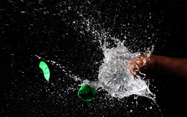 Photography Water Punch HD Wallpaper | Background Image