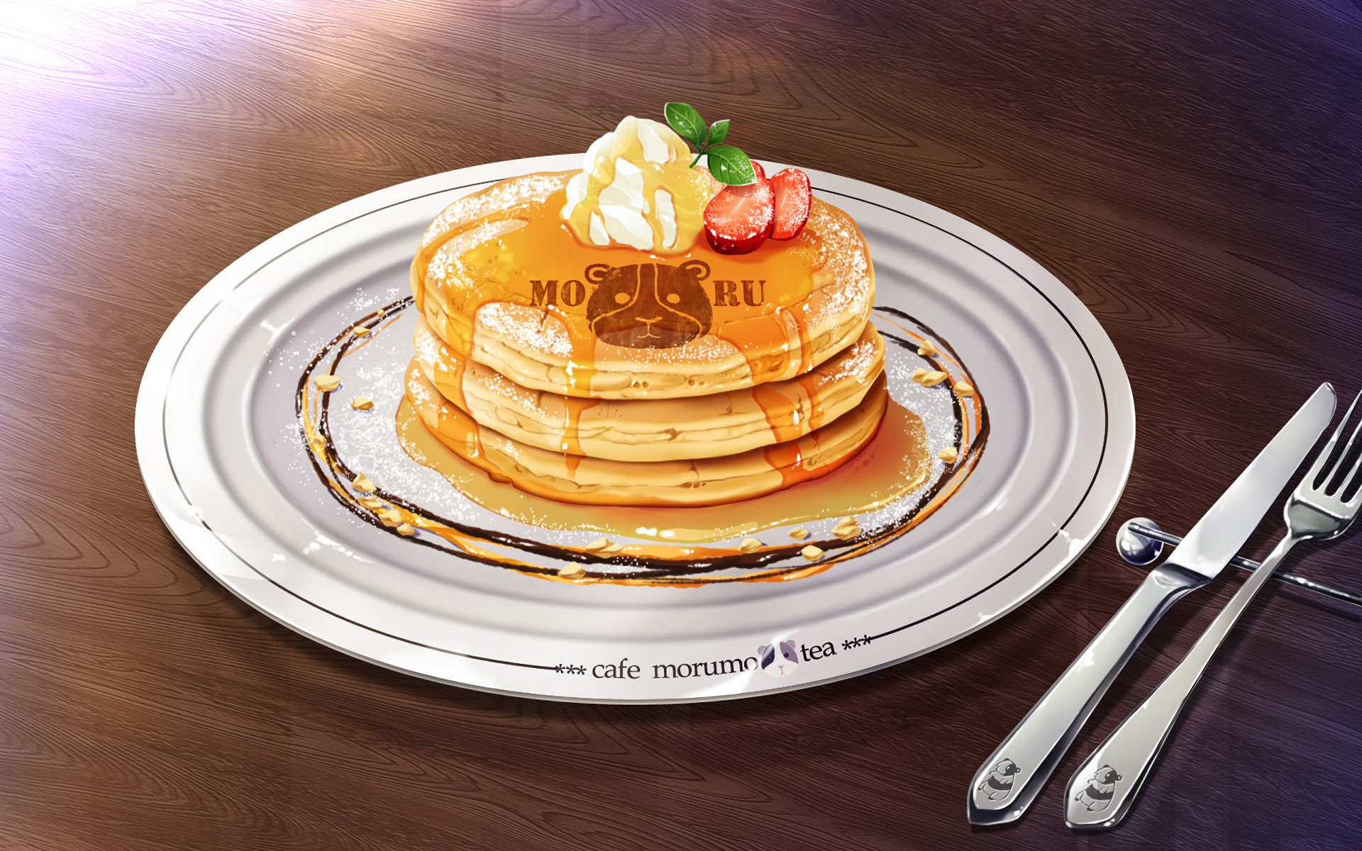 Anime - Original  Pancake Wallpaper
