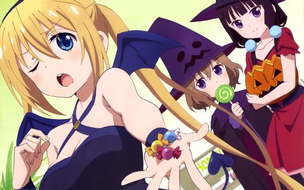 Anime Blend S Kaho Hinata Maika Sakuranomiya Mafuyu Hoshikawa HD Wallpaper | Background Image