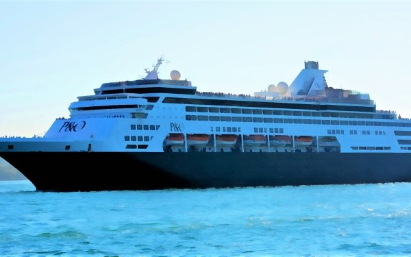 Vehicles Cruise Ship Cruise Ships Pacific Eden HD Wallpaper | Background Image
