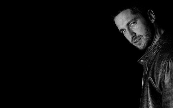 Celebrity Gerard Butler Actors Scotland Actor Black & White Scottish HD Wallpaper | Background Image