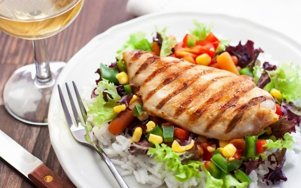 Food Chicken Still Life Meal HD Wallpaper | Background Image