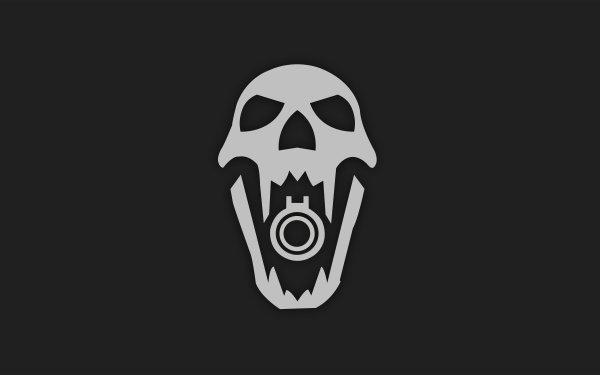 Video Game Tom Clancy's Rainbow Six: Siege Blackbeard Skull Minimalist HD Wallpaper   Background Image