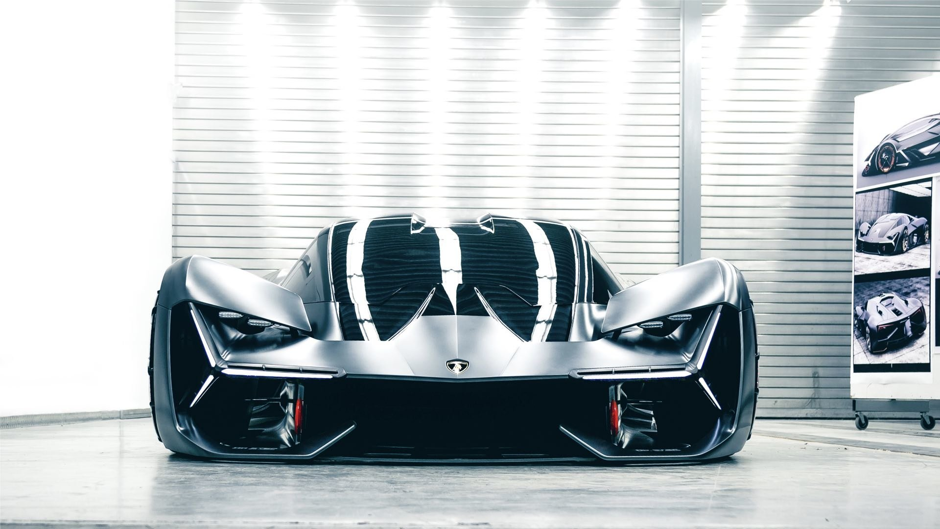5 Lamborghini Terzo Millennio Hd Wallpapers Background Images