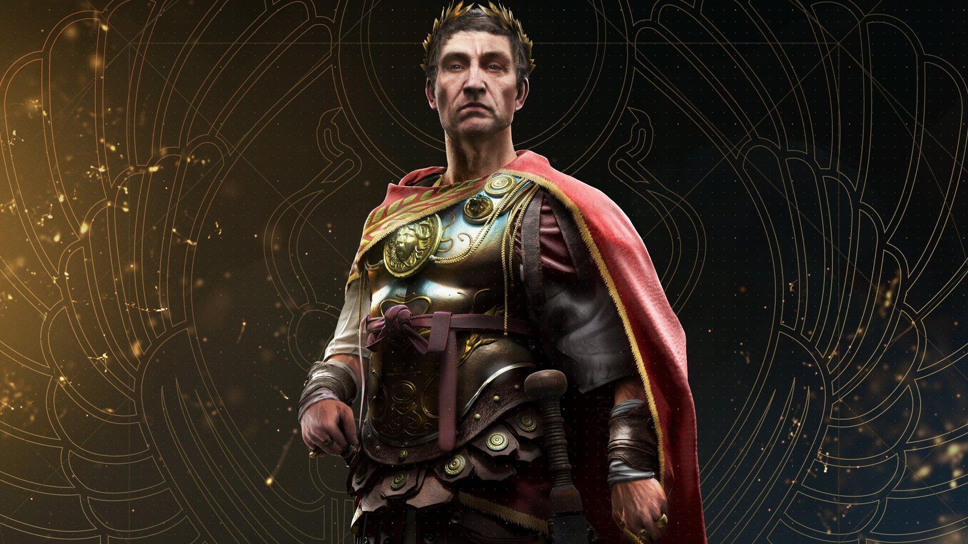 Video Game - Assassin's Creed Origins  Julius Caesar Wallpaper
