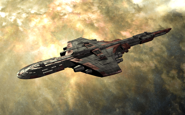 Sci Fi Spaceship Space HD Wallpaper   Background Image