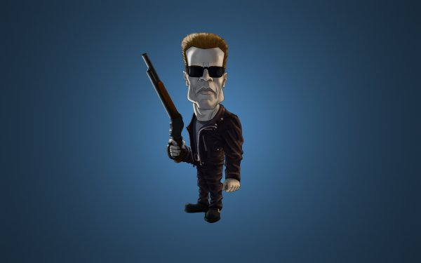 Movie Terminator 2: Judgment Day Terminator Arnold Schwarzenegger Sunglasses Shotgun HD Wallpaper | Background Image