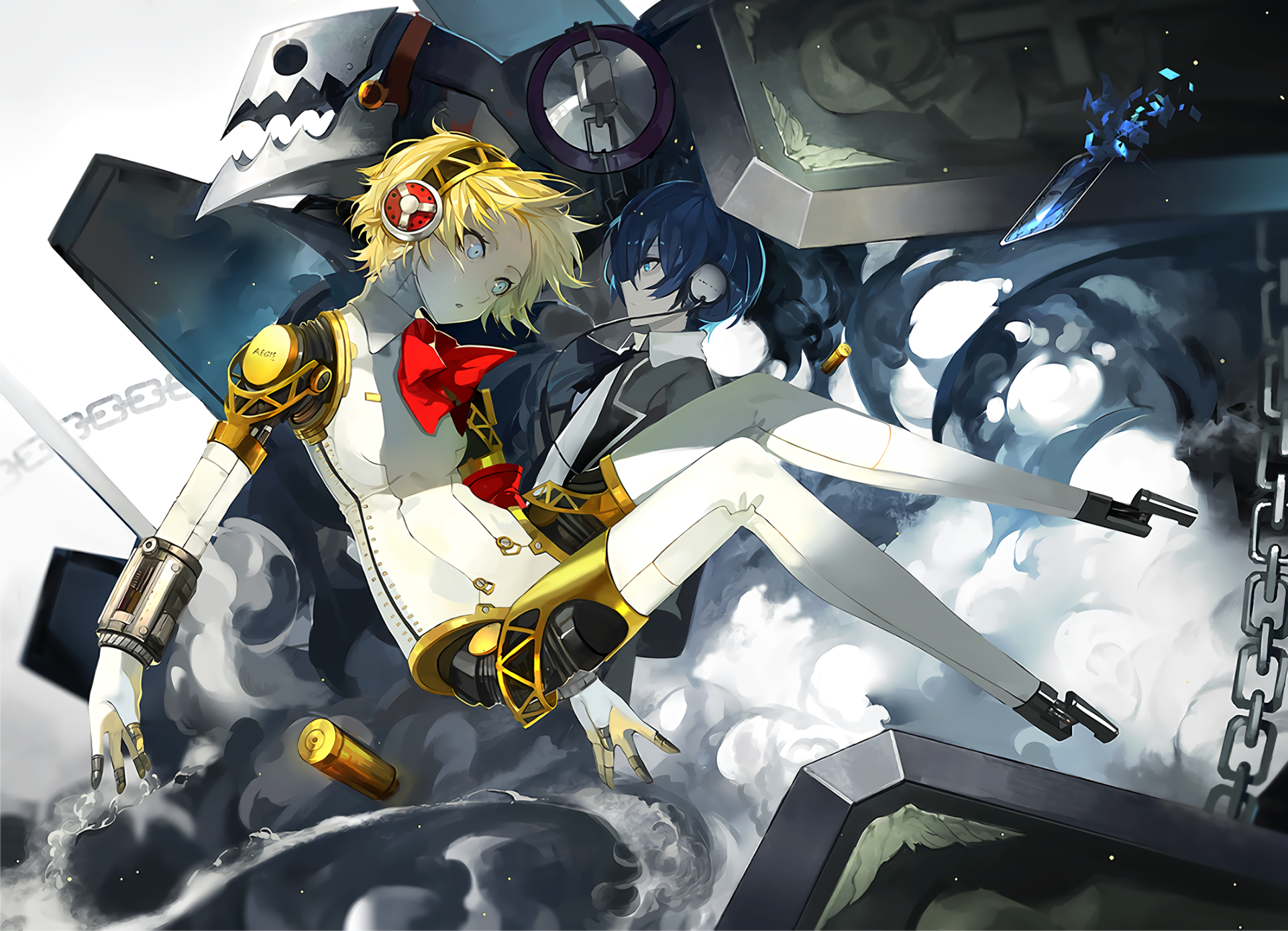 Video Game - Persona 3  Aigis (Persona) Thanatos (Persona) Wallpaper