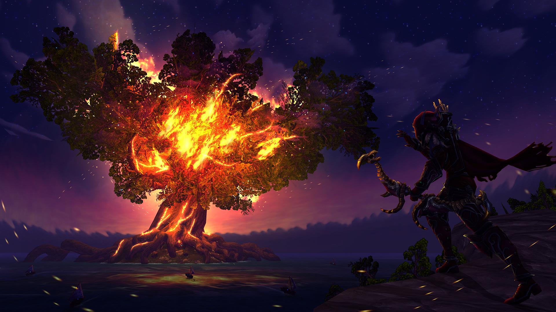 World Of Warcraft The Dark Portal Uhd 4k Wallpaper: World Of Warcraft HD Wallpaper