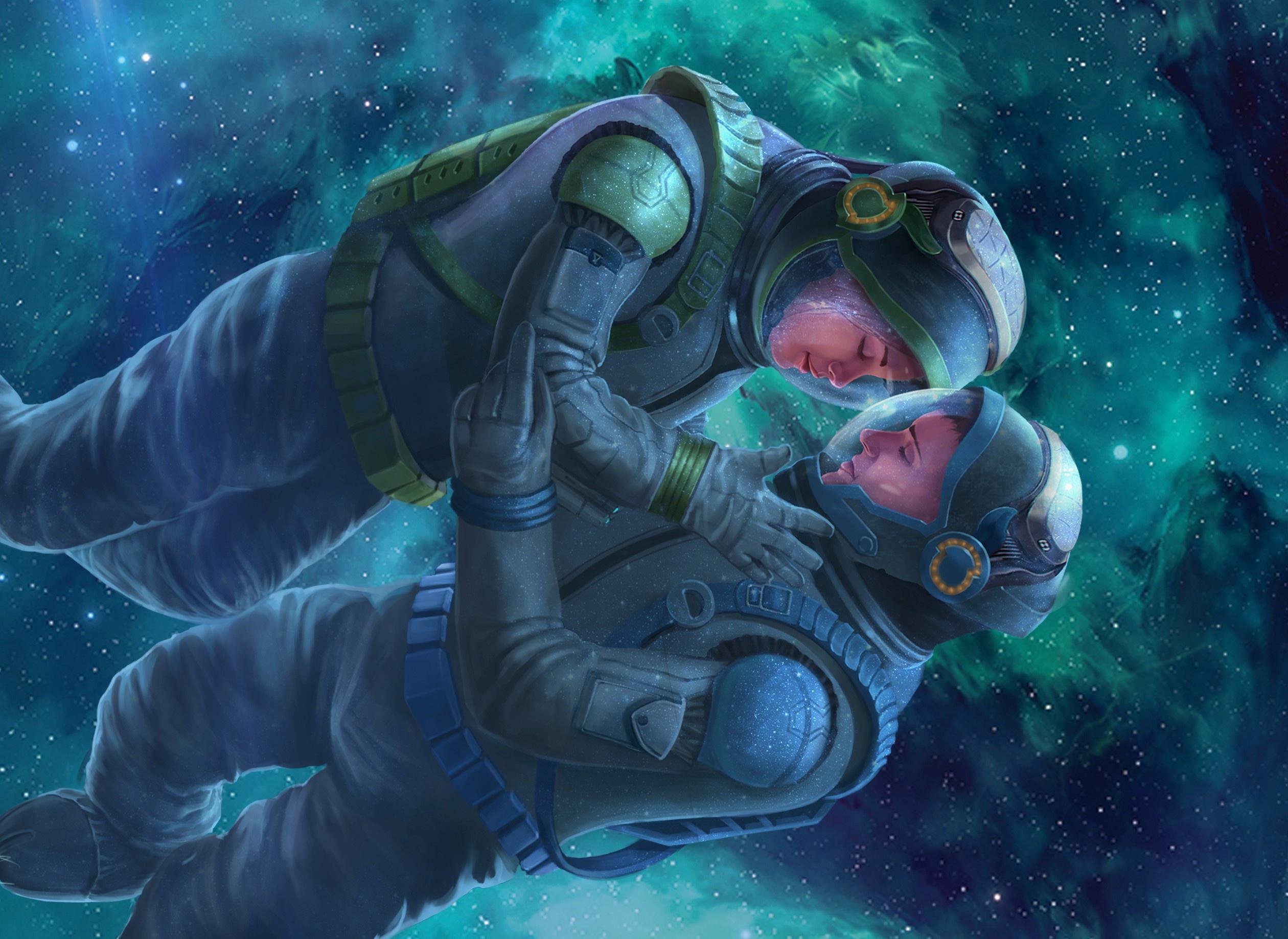 astronaut space love - photo #27