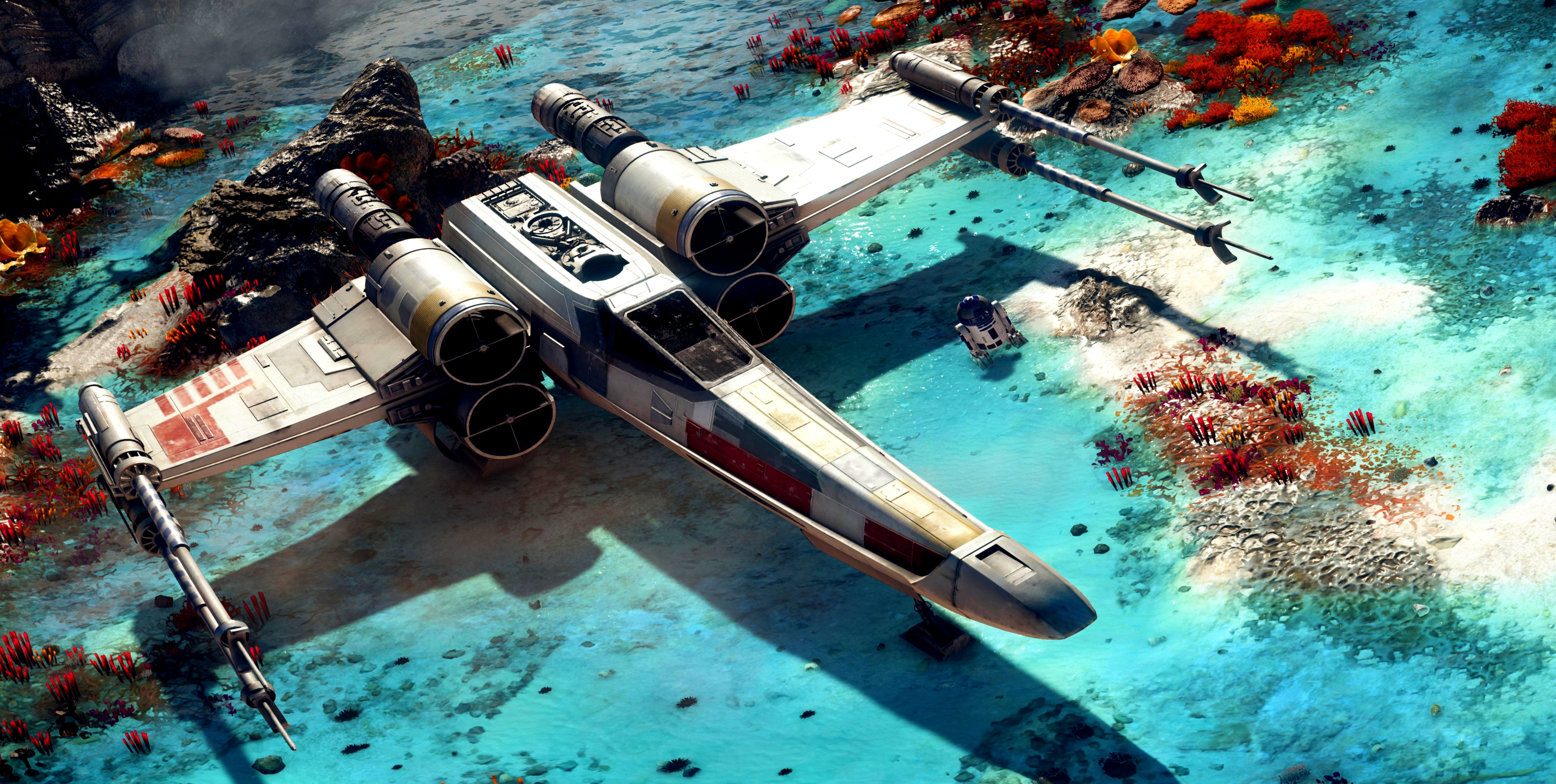 16 4k Ultra Hd X Wing Wallpapers Background Images Wallpaper Abyss